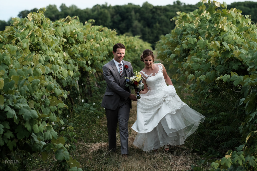 Emily and Matt's Wedding, Glenora Winery 2016
